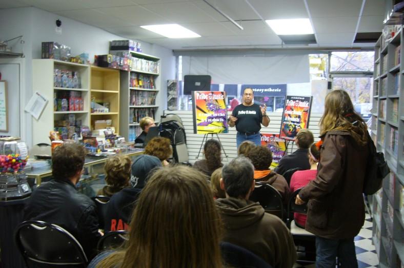 Pride Junkie Presentation by Bruce