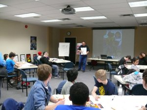 Comic Book Day Workshop - Oakville, Ontario
