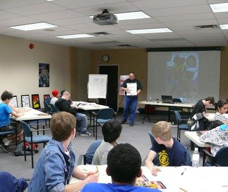 Comic Book Day Workshop - Oakville, Ontario
