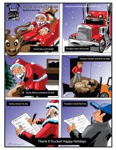 Truckers Are Like Santa