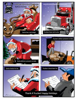 Truckers Are Like Santa