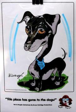Live Pet caricature