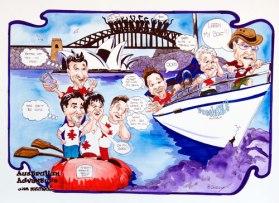 Sailing Illustration