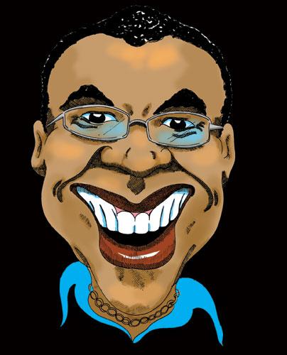 Bruce's Caricature