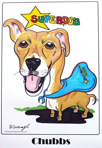 Pet Gift Caricature