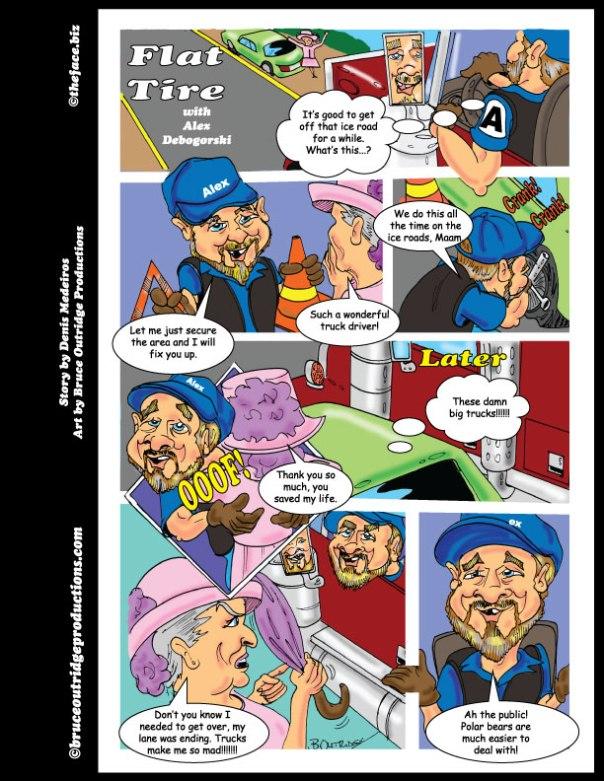 Flat-Tire Comic page