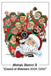 Christmas Theme Caricature