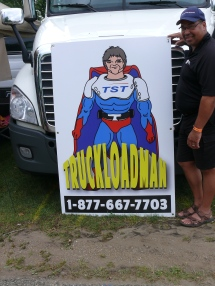 truckload Man signage