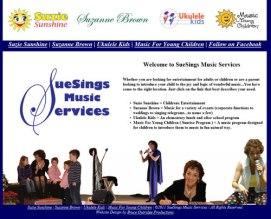 Singing Services Website