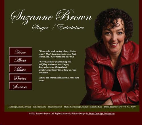 Singer Songwriter website
