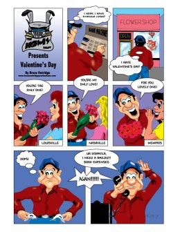 Valentine's-Day Cartoon