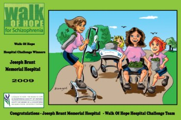 Poster Illustration -Walk of hope
