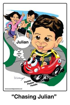 Chasing-Julian-Caricature