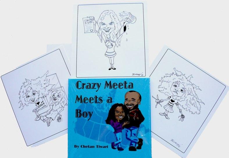 Crazy Meeta Meets a Boy Book