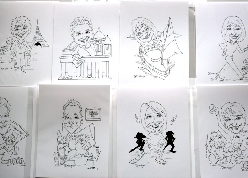 Wynford-group caricatures