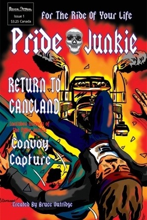 Pride Junkie Issue 1 Cover