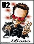 Bono-Caricature