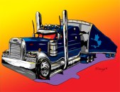 Syvret Truck caricature