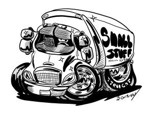truck cartoon
