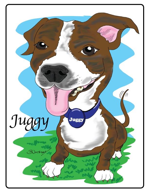 Dog Gift Caricature