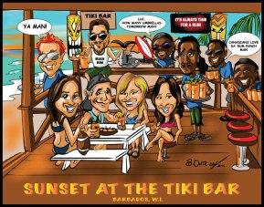 Sunset at the Tiki Bar 2016