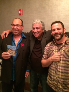 Bruce, Denis, and Jason. Artist, Producer, and Director