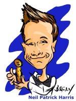 Neil Patrick Harris Ipad Caricature