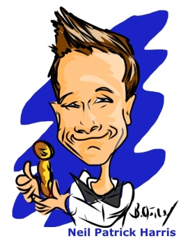 Neil Patrick Harris Ipad Caricature
