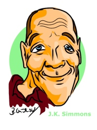 J.K. Simmons Ipad Caricature