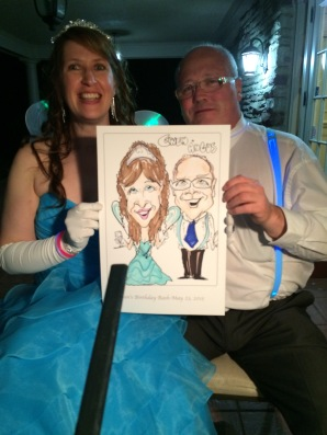 Birthday Party Caricature