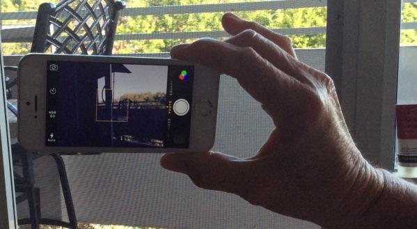 camera phone landscape