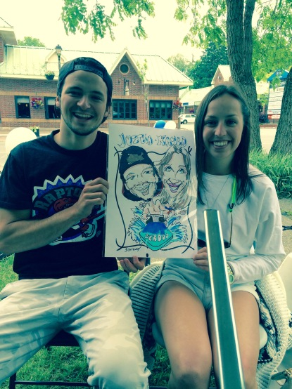 Heritage Day-Caricatures