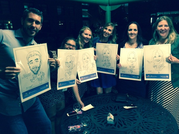 Corporate Event caricatures