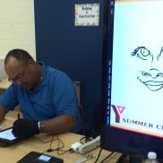 Working the iPad