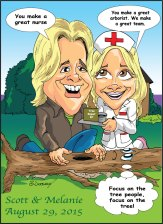 Brunet-Caricature