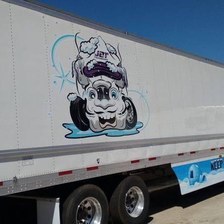 JBT Frozen Mascot