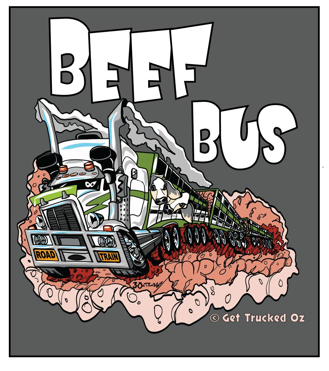 Beef-Bus-T-Shirt-Design