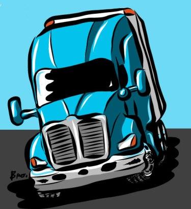 Trucking-Illlustration