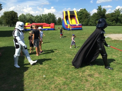darth vader at event