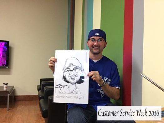 Customer service event