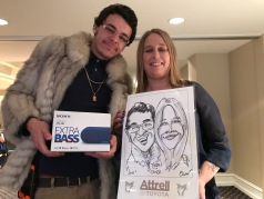 Caricatures -corporate event