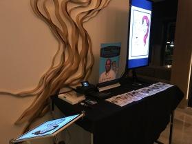 Bruce's digital caricature setup
