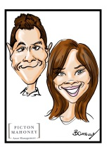 Picton Mahoney Caricatures
