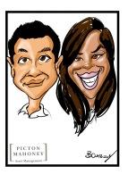 Picton Mahoney Caricatures