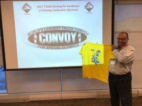 Bruce with Convoy shirt