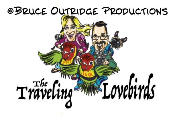 The Traveling Lovebirds logo