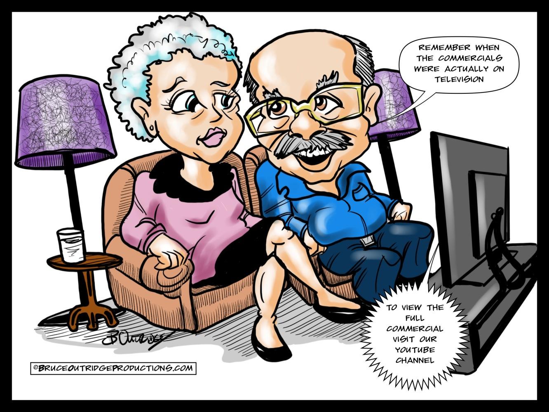 commercial cartoon