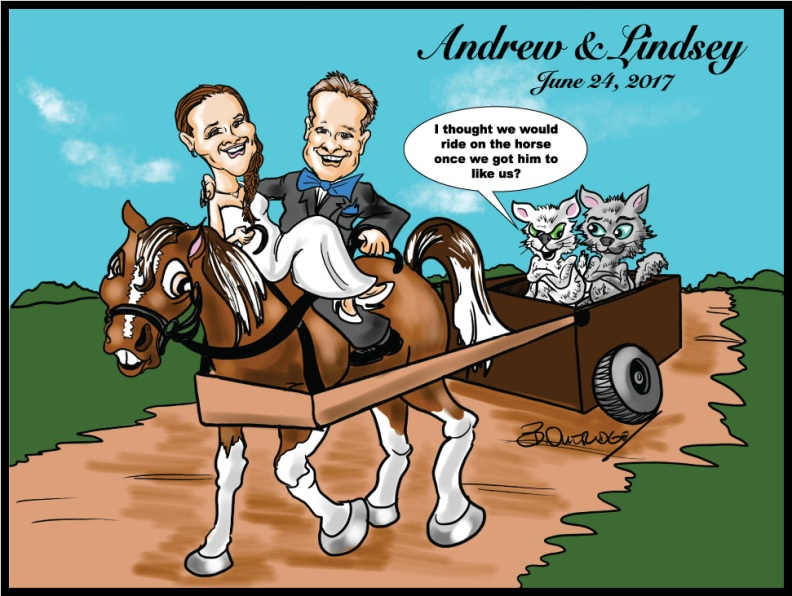 Andrew-and-Lindsey-caricature