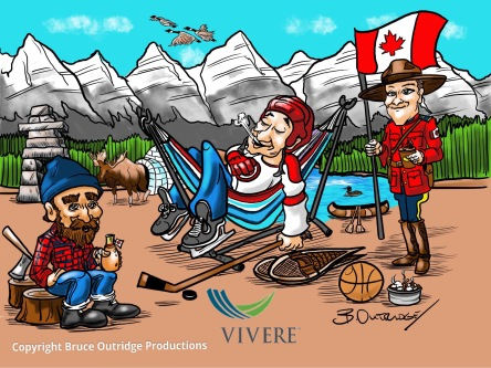 Canada Day Illustration