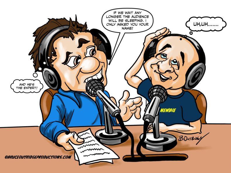 Media cartoon